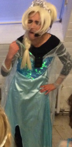 AEIOU Parties Limited, Childrens' Parties London, AEIOU Parties Elsa From Frozen Entertainer